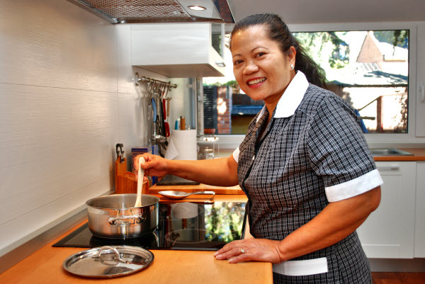 Empleada de hogar para el fin de semana Alta trabajador servicio domestico