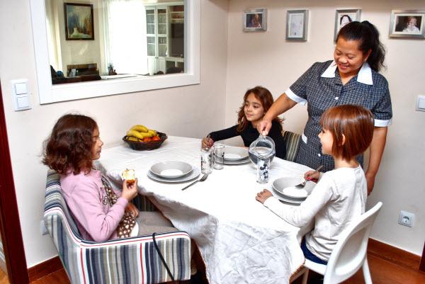Selecci n y salarios de empleadas de hogar para jornadas for Nomina empleada de hogar rellenada