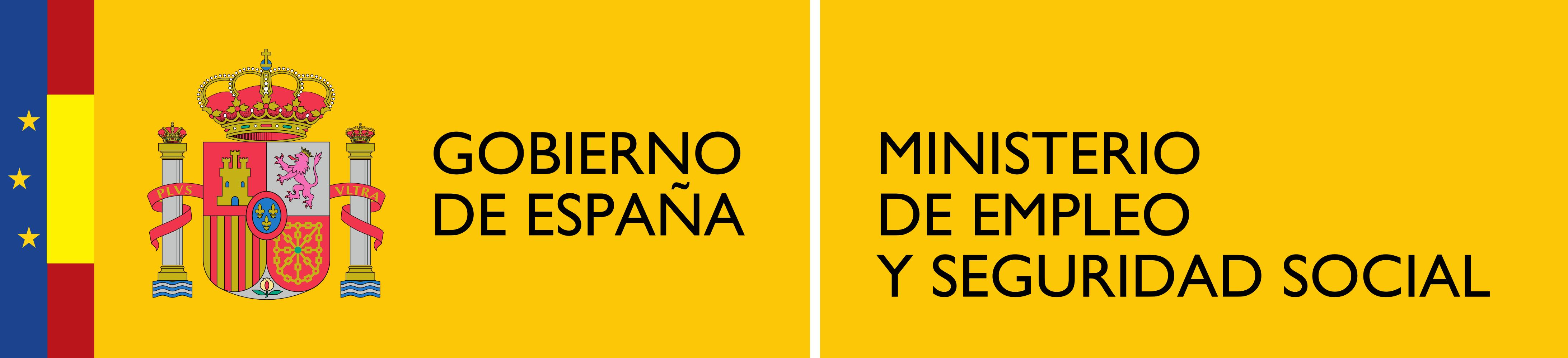 Logotipo del Ministerio de Empleo y Seguridad Social