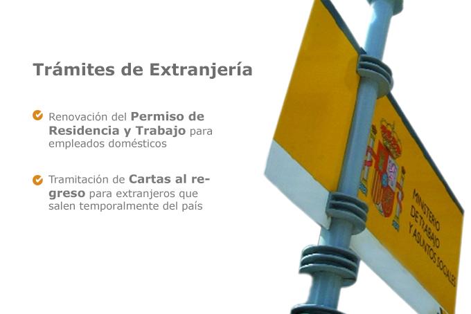 Extranjeria agencia de empleadas de hogar y servicio for Agencia de empleo madrid servicio domestico