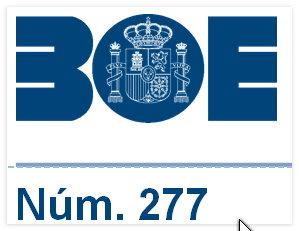 BOE número 277
