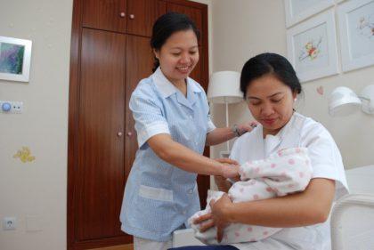 buena relacion con tu empleada de hogar interna - empleadas internas con bebe