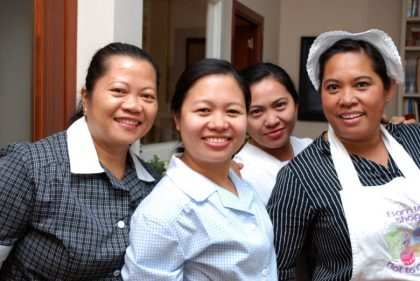 excelente empleada domestica - grupo de empleadas de hogar