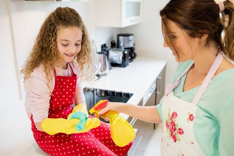 El reto de la limpieza a fondo de la cocina