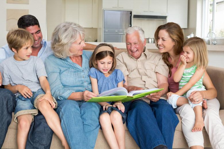 El Papy Boom-Familia completa con todas las generaciones