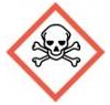 simbolo de peligro de productos quimicos-toxicidad aguda